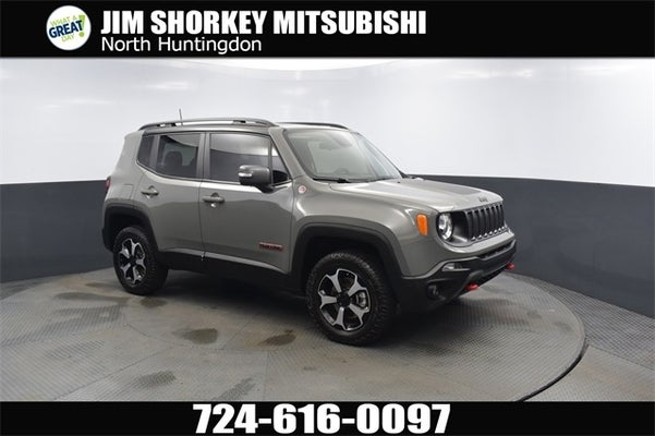 2020 Jeep Renegade Trailhawk Panoramic Roof In White Oak Pa North Huntington Jeep Renegade Jim Shorkey Ford